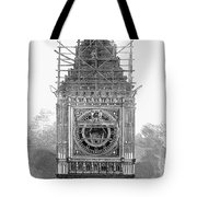 London: Clock Tower, 1856 Tote Bag