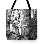 London Debtors Prison - To License For Professional Use Visit Granger.com Tote Bag