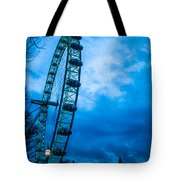 London Eye At Westminster Tote Bag