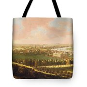 London From Greenwich Hill Tote Bag