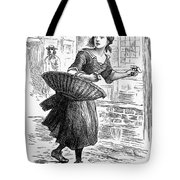 London: Match-girl Tote Bag