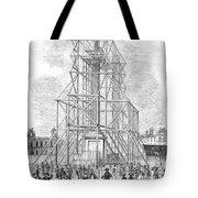 London: Nelson Column, 1845 Tote Bag