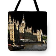 London Parliament Tote Bag