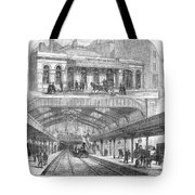 London: Railway, 1876 Tote Bag