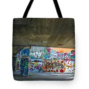 London Skatepark 3 Tote Bag