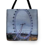 London Skyline Edf Eye Tote Bag
