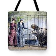 London Zoo, 1891 Tote Bag