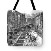 London:fleet Street Sewer Tote Bag