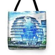 London's City Hall Tote Bag
