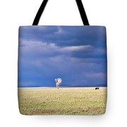 Lone Buffalo 2 Tote Bag