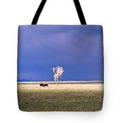 Lone Buffalo 4 Tote Bag
