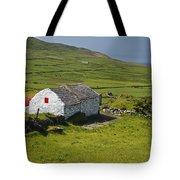Lone Farmhouse On Mizen Head In West Tote Bag