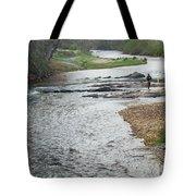 Lone Fisherman 1 Tote Bag