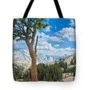 Lone Pine At Half Dome Tote Bag