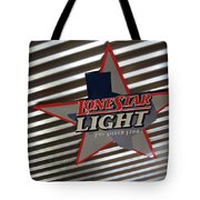 Lone Star Beer Light Tote Bag