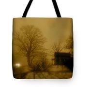 Lone Traveler Tote Bag