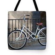 Lonely Bike Tote Bag