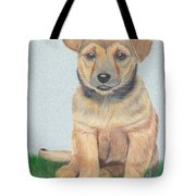Lonely Dog Tote Bag