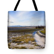 Lonely House On The Prairie Tote Bag