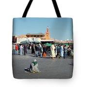 Lonely In Marrakesh Tote Bag