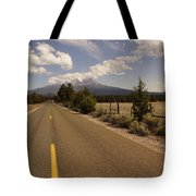 Lonesome Hiway To Shasta Tote Bag