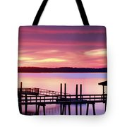 Long After Sunset Tote Bag