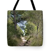 Long Forest Road Tote Bag