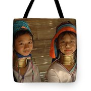 Long Neck Girls Tote Bag