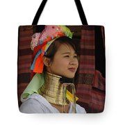 Long Necked Woman 3 Tote Bag