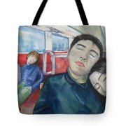 Long Ride Tote Bag
