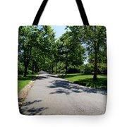 Long Walk Ahead Tote Bag