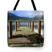 Long Walk Off A Short Pier Tote Bag