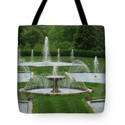Longwood Fountains 3 Tote Bag