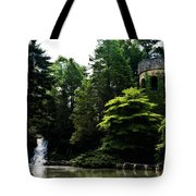 Longwood Garden Castle Tote Bag