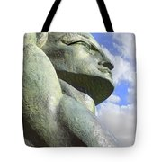 Look To The Sky - R Tote Bag