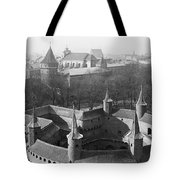 Looking Down On The Rondel Or Barbican Tote Bag