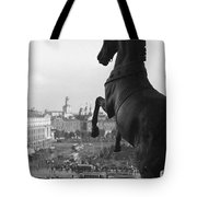 Looking Down On The Sverdlov Square Tote Bag