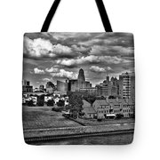 Looking Downtown From The Erie Basin Marina Tote Bag