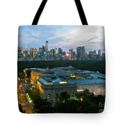 Looking South Nyc Tote Bag