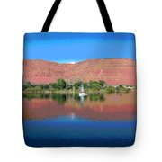 Reflections Of Ivins, Ut Tote Bag