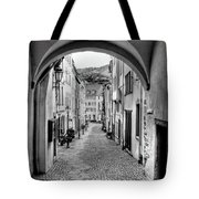 Looking Through Graach Gate Tote Bag