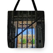 Looking Through The Bars Tote Bag