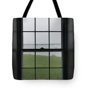 Looking Through The Window Of Historic Tote Bag