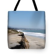 Looking Toward Half Moon Bay Tote Bag