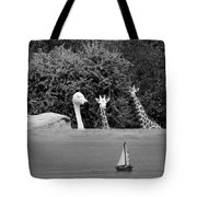 Lookouts Bw Tote Bag