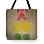 Lord Ganesh Rangoli Tote Bag
