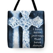 Lord Have Mercy With Lyrics Tote Bag