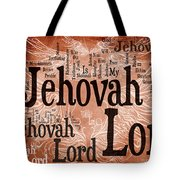 Lord Jehovah Tote Bag