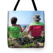 Lori And Chris 1 Tote Bag