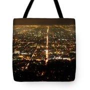 Los Angeles At Night 2 Tote Bag
